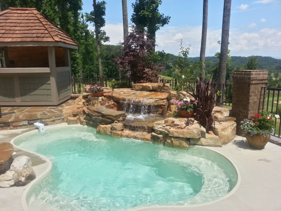Small Fiberglass Pools Anthony Fiore Const Inc
